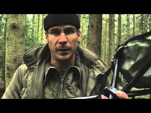 Dreibein Klapphocker - Camping -Hocker