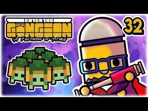 Turtle Problem | Part 32 | Let's Play: Enter the Gungeon: Farewell to Arms | Gameplay