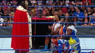 King Booker interrupts New Day's celebration FULL segment - WWE Smackdown Live