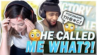 DAEQUAN CALLED ME WHAT?! Fortnite Ft. TSM Myth & Valkyrae!