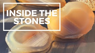 What's Inside Agates • Waterline, Bands & Moss