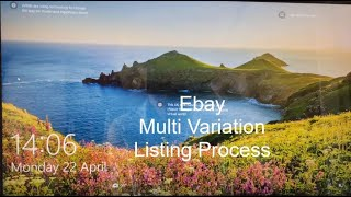 How To Create An Ebay Variations Listing - Step By Step