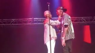 August Alsina reunites with his mother on stage after not seeing her for 5 years