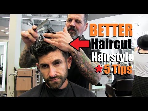 5 Tips To Get An AWESOME Haircut & Hairstyle From Your Barber! (A MUST SEE)
