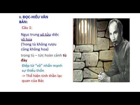 Ngữ Văn 8 - NGẮM TRĂNG