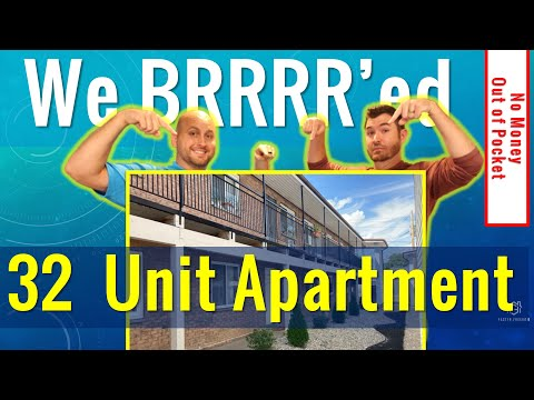 , title : 'Buying Apartment Buildings Using the BRRRR Strategy | Real Estate Investing