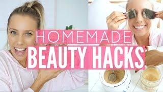 Homemade beauty hacks using natural ingredients