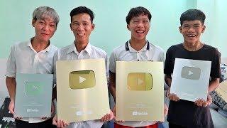 LamTV - Trận Chiến Buffet Lẩu Băng Chuyền Ăn Mừng 1 Triệu Subscribe, Nút Play Vàng Và Nút Play Bạc