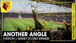 ANOTHER ANGLE | Deeney goal | Amazing pre-match display | Everton win!