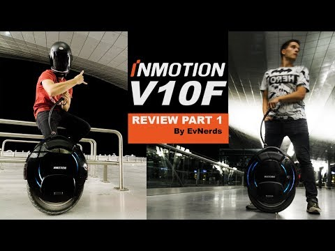 Inmotion V10 / V10 F Review PART 1 I NEW Inmotion electric unicycle