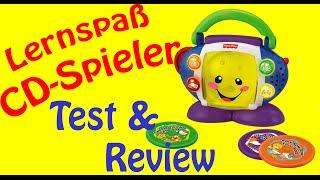 REVIEW LERNSPASS CD SPIELER FISHER-PRICE TEST