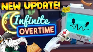 "Job Simulator VR Gameplay - ""NEW INFINITE OVERTIME UPDATE!!!"" - Let's Play Job Simulator"