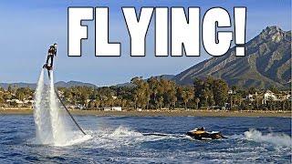 FLYBOARDING IN MARBELLA!!