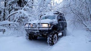 Адский Оффроад зимой! 300 метров болот под снегом за день ! Не выжил никто!