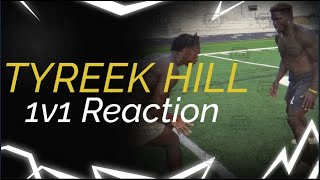 Reacting to DOING 1ON1'S AGAINST TYREEK HILL! (FASTEST PLAYER IN THE NFL) FT. SAMMY WATKINS