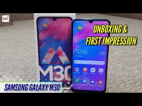 Samsung Galaxy M30: Unboxing and 1st impression
