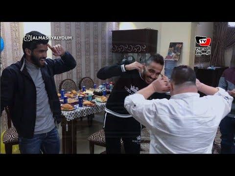 كهربا يستقبل العام الجديد مع صالح جمعة وجنش