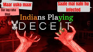 Indians playing Deceit | Extremely Funny moments | Horror Game |Trust No One | EyePerion