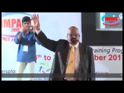 How to be a Successful Entrepreneur | Sanyasi Rao|TELUGU IMPACT Hyd Dec 2013