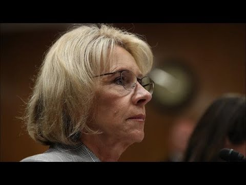 Secretary of Education rescinds Obama-era guidelines on campus sexual assault | Los Angeles Times