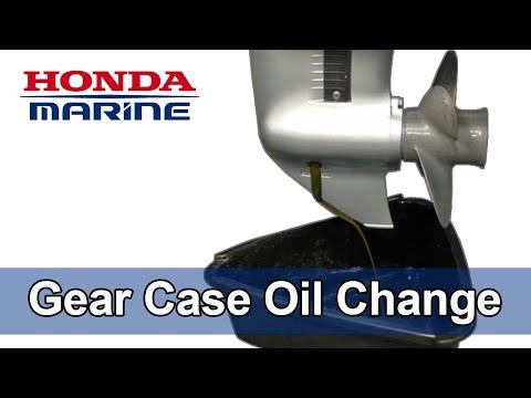 Gear Case Oil Change