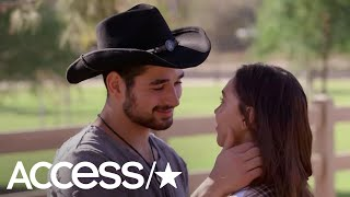 Alexis Ren & Alan Bersten Share A Passionate Kiss On 'Dancing With The Stars'!   Access