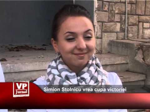 Simion Stolnicu vrea cupa victoriei