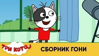 Три кота | Сборник Гони