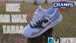 Nike Air Max Tavas w/ On Foot @ChampsSports