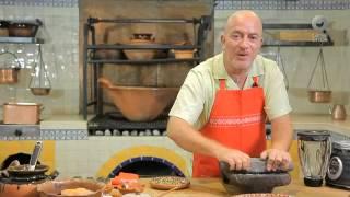 Tu cocina - Sopa de pinole con frijol negro