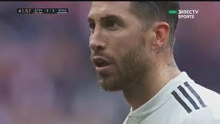 ATLETICO DE MADRID 1 VS REAL MADRID 3 2018 (Post CR7)