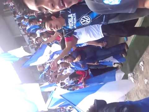 """""""los malkriados en la presentación del puebla fc"""" Barra: Malkriados • Club: Puebla Fútbol Club"""