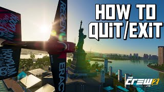 The Crew 2 How to Exit an Event/Free Roam