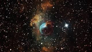 4K | Сквозь вселенную - Туманность Пузырь/The Bubble Nebula