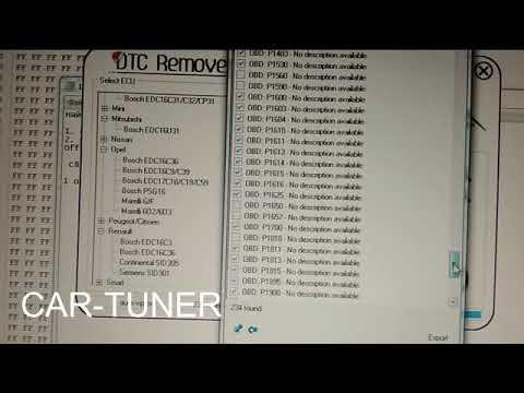 DTC Remover V1 8 5 Software - смотреть онлайн на Hah Life