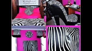 ROOM TOUR - ZEBRA AND PINK
