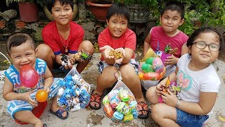Trò Chơi Đi Săn Học Tên Con Vật Và Côn Trùng ❤ ChiChi ToysReview TV ❤ Đồ Chơi Trẻ Em Baby Doli