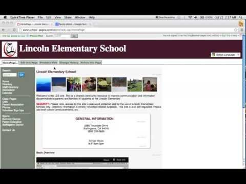 SchoolPages overview