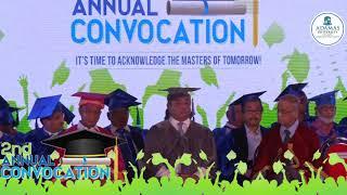Adamas University   2nd Annual Convocation   Professor Samit Ray opens the ceremony