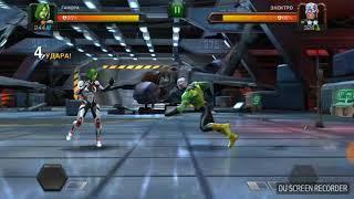 Бой супергероев:гамора против электра