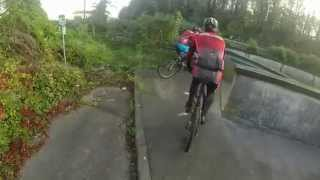 preview picture of video 'VTT Carriere Antoing 2014'