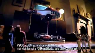Lewis Hamilton New Scalextric TV Ad Santander McLaren Car Commercial  2013 HD