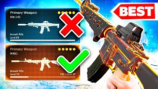 Warzone BEST M4A1 Class Setup/Loadout BEST Assault Rifle? 🤯 (Call of Duty Modern Warfare)