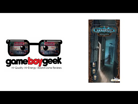 The Game Boy Geek Reviews Mysterium Hidden Signs