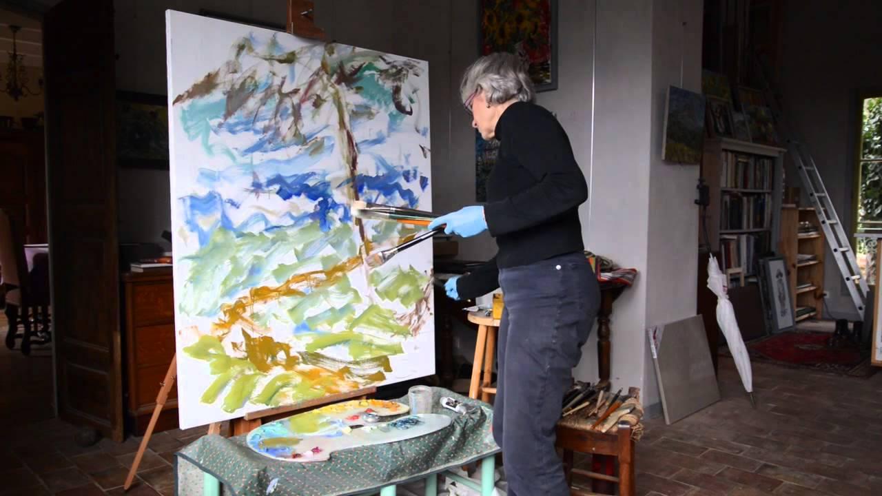 Jill Steenhuis sunday painting