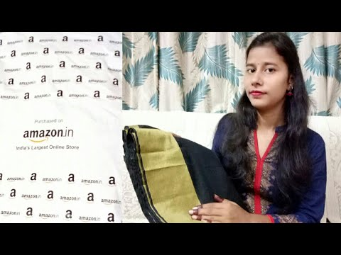 Online Amazon Saree in only 399/- my Honest Review Saree Video