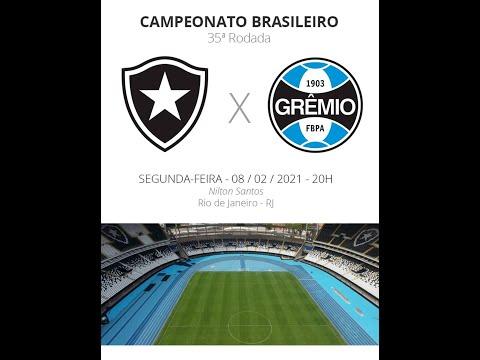Botafogo x Grêmio: veja onde assistir, escalações, desfalques e arbitr