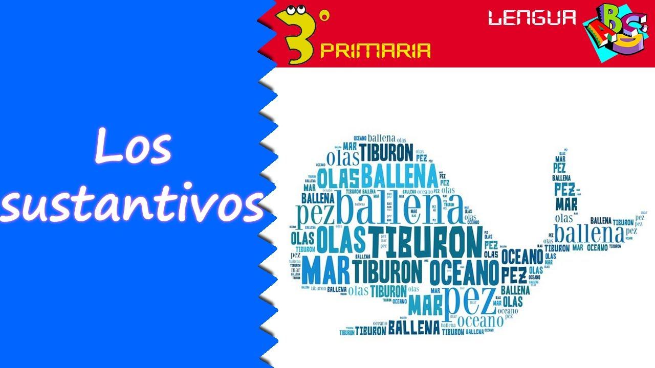 Lengua Castellana. 3º Primaria. Tema 3. El sustantivo