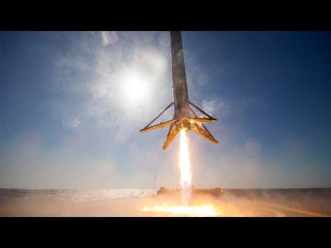 hqdefault - El aterrizaje del cohete Falcon 9 grabado desde la plataforma en 360 grados