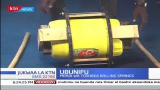Ubunifu: Mradi wa Tosheka Rolling Springs wakusafirisha maji unaolenga maeneo kame